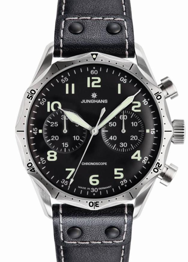 Chronoscope Meister Pilote : le chrono d'aviateur selon Junghans