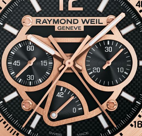 Nabucco Cuore Caldo : Raymond Weil présente son 1er chronographe rattrapante et réserve de marche