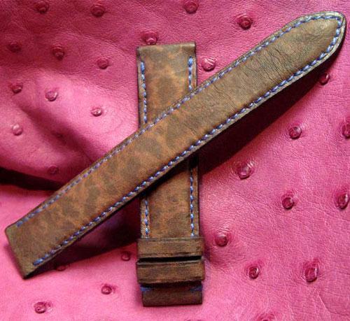 Bracelet-montre en grenouille Photo Atelier du Bracelet Parisen