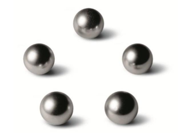 Eterna : d'où vient le logo constitué de cinq billes ?