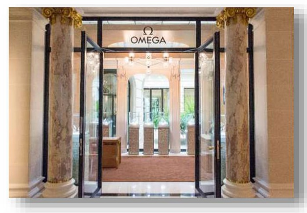 Omega au Peninsula Paris