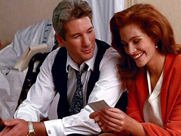 Pretty Woman : Richard Gere porte une Rolex Datejust en or et acier