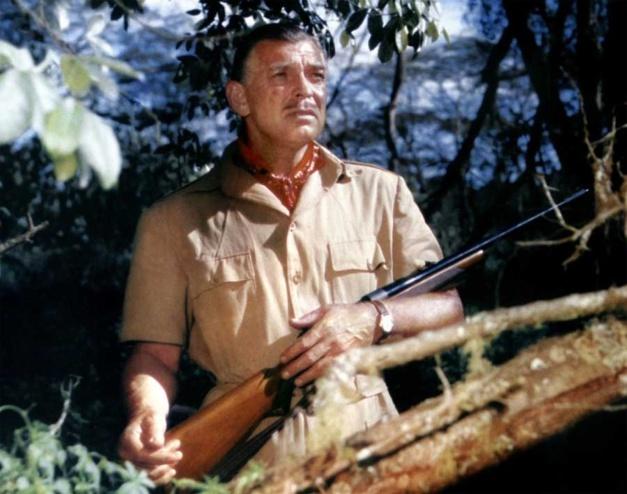 Mogambo : Clark Gable porte une Rolex Oyster Perpetual en or jaune