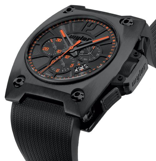 Wyler Genève dévoile son nouveau chronographe : El Camino Real, un modèle en céramique noire