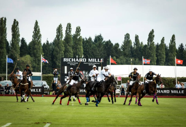 Richard Mille : chronométreur du Polo de Chantilly