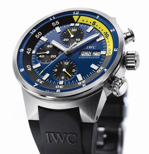 Chronographe « Cousteau »Calypso… Sauvée Divers Aquatimer Des Iwc m8wvN0On