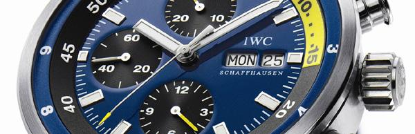 IWC Aquatimer Chronographe « Cousteau Divers » : Calypso… Sauvée des eaux