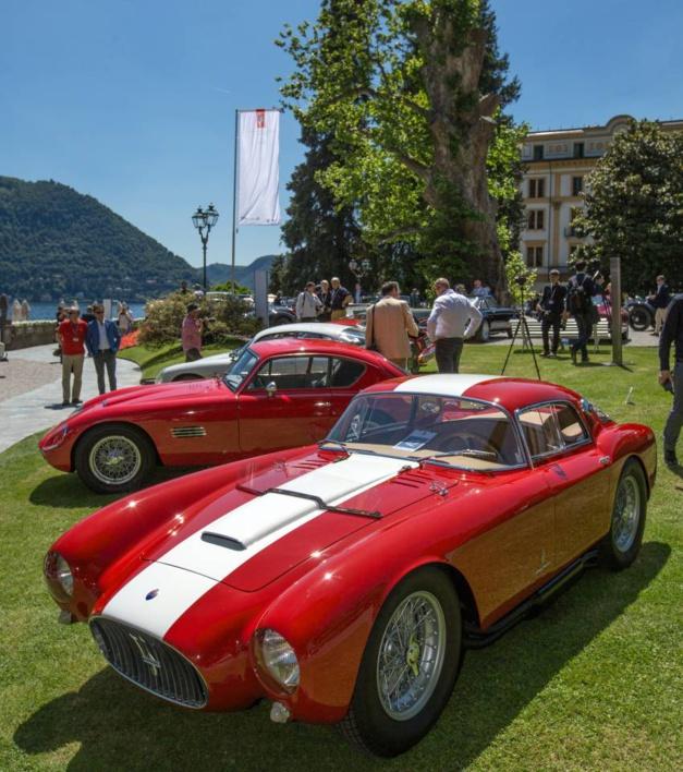 Concorso d'Elegenza 2016 : une Maserati de 1954 gagne la Lange 1 Time Zone