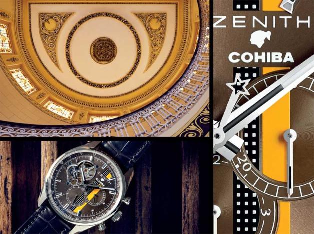Zenith El Primero Cohiba : volutes de précision