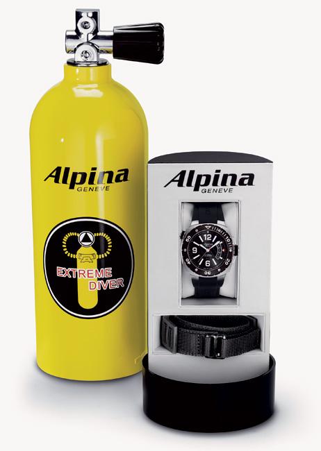 Alpina Extrême Diver 1.000 mètres : pour plonger en eaux profondes l'été prochain