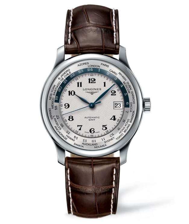 Longines Master Collection GMT : montre de villes... du monde !