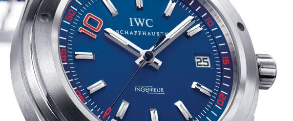 IWC présente l'Ingenieur Automatic Zinedine Zidane, une série limitée à 1.000 exemplaires