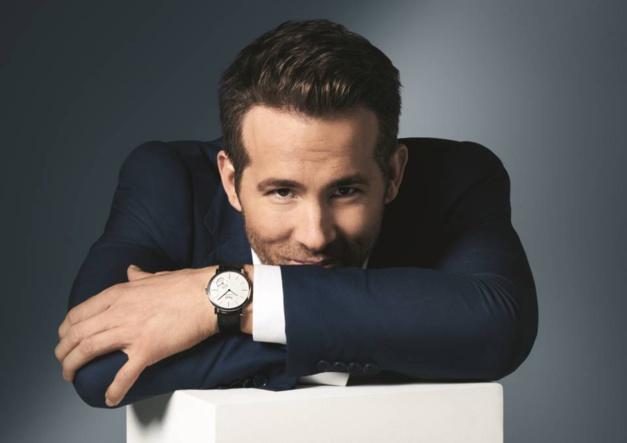 Ryan Reynolds : nouvel ambassadeur Piaget