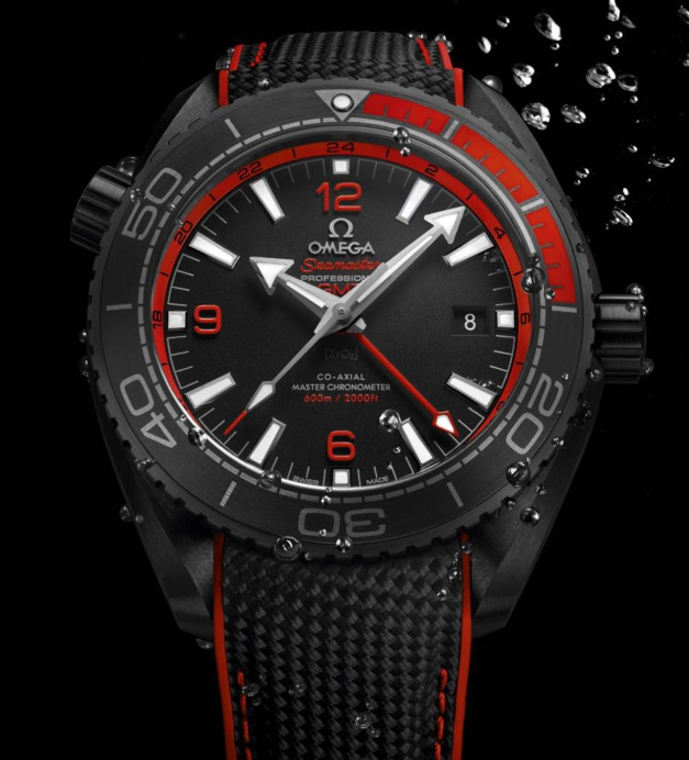 "Omega Seamaster Planet Ocean ""Deep Black"""