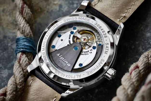 Alpiner Heritage Manufacture KM-710 : montre rétro-militaire