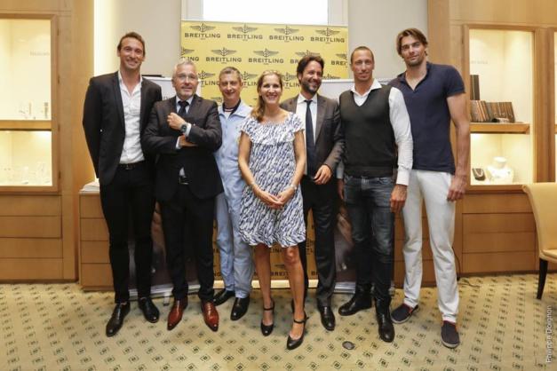 "Breitling : de biens ""b'eaux"" ambassadeurs"