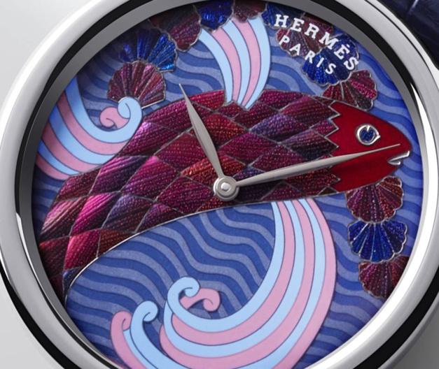 Hermès Arceau Pocket Ailes et Ecailles : deux exemplaires seulement
