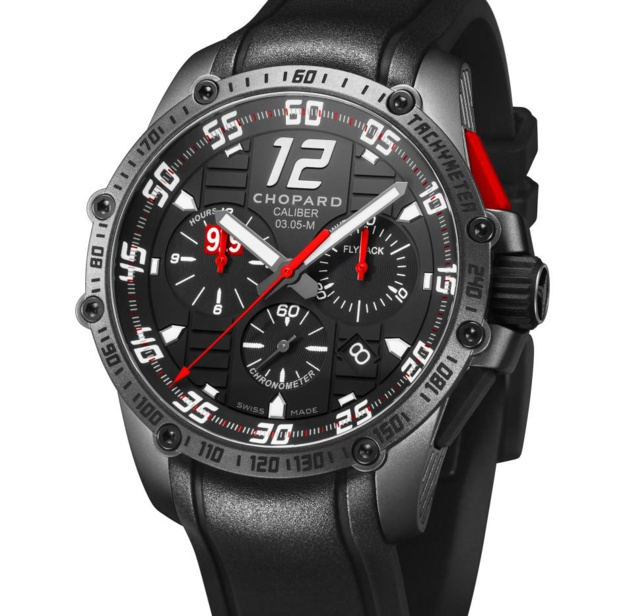Chopard Superfast Chrono Porsche 919 Black Edition : 100 ex.