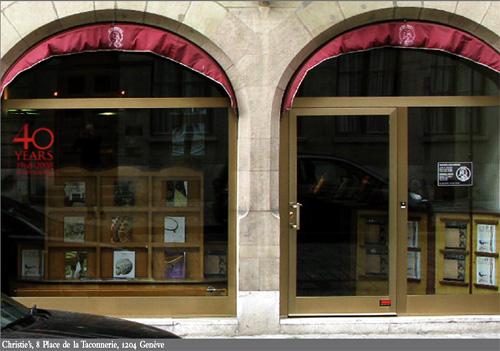 Christie's : depuis 40 ans à Genève, centre de référence en matière de vente aux enchères d'horlogerie