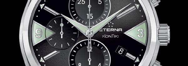 KonTiki : la collection mythique d'Eterna se dote d'un chronographe