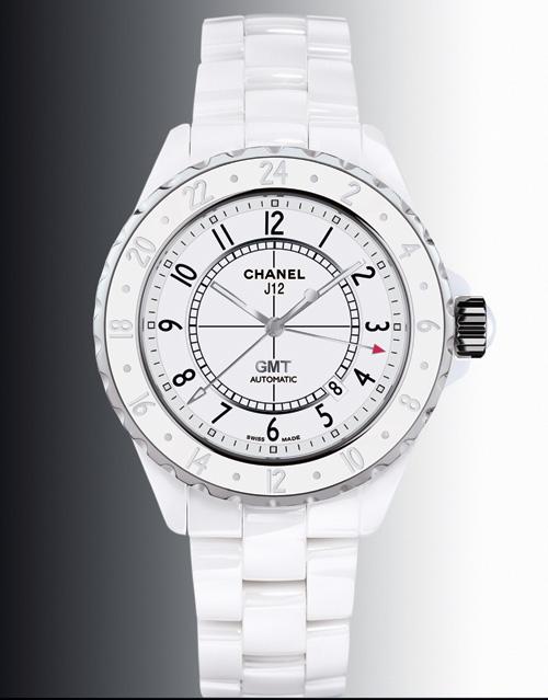 Chanel J12 GMT en céramique blanche