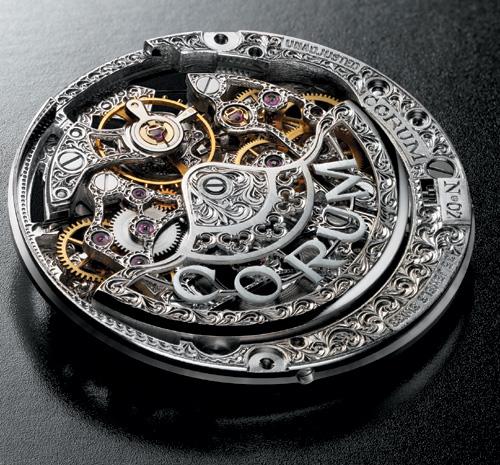 Romulus Perpetual Calendar de chez Corum : l'un des modèles les plus exclusifs de la marque…