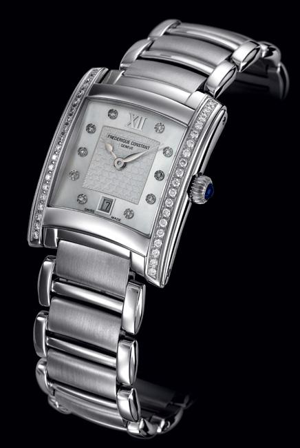 Frédérique Constant Delight : de l'interchangeabilité des bracelets…