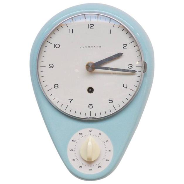 L'horloge de cuisine Junghans Max Bill : collector en devenir