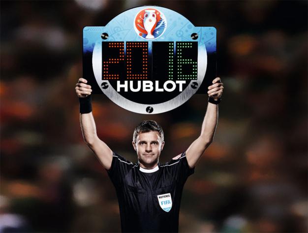 Hublot Euro 2016 : visibilité optimale grâce aux panneaux lumineux