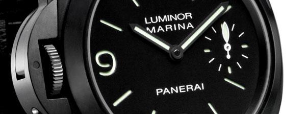 Luminor Marina gaucher en acier PVD noir : vous allez aimer être gaucher…