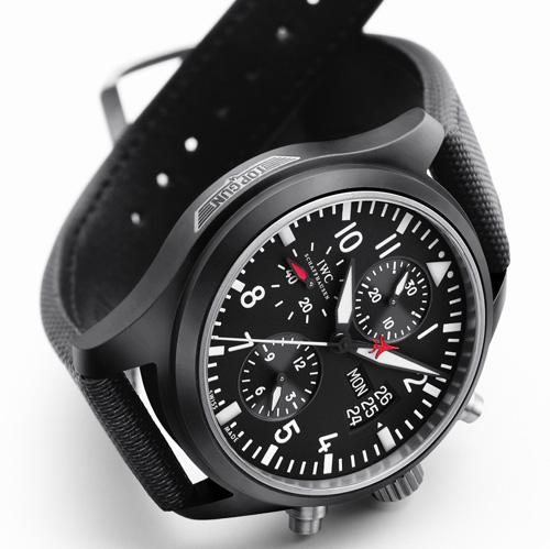 IWC Top Gun : un chronographe en céramique ultraléger mais… ultra résistant