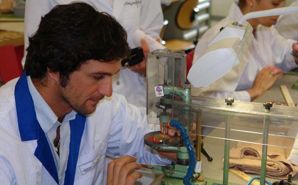 Eduardo Novillo Astrada en visite à la manufacture Jaeger-LeCoultre