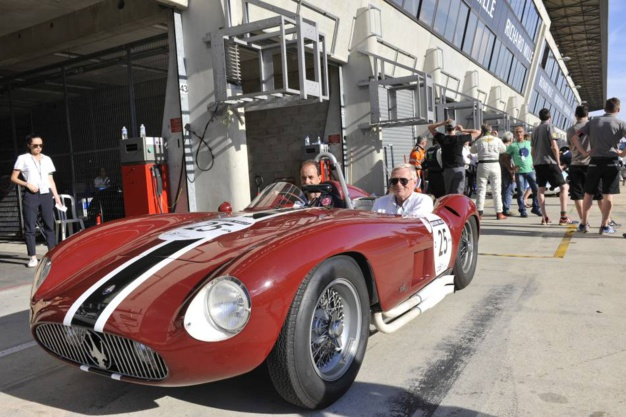 Le Mans Classic 2016, Maserati 300S photo Joel Chassaing-Cuvilllier