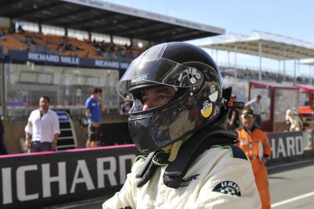 Le Mans Classic 2016, François Fillon photo Joel Chassaing-Cuvilllier