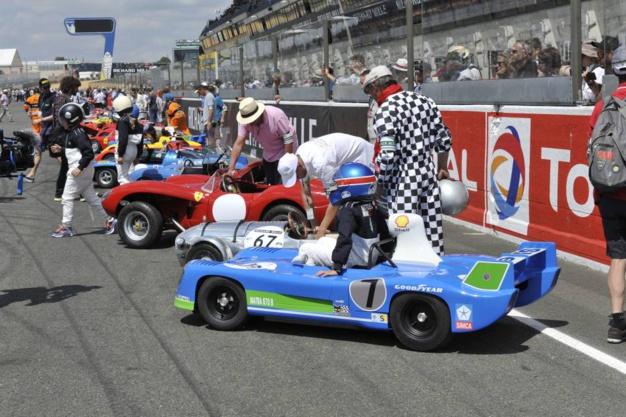 Le Mans Classic 2016, la course des enfants photo Joel Chassaing-Cuvilllier