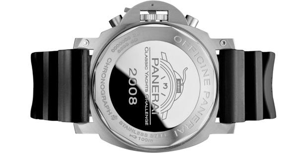 Luminor Regatta Chronographe 44 mm : une édition limitée pour le Panerai Classic Yachts Challenge 2008