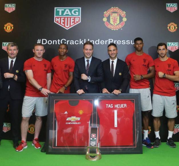 TAG Heuer : partenaire de Manchester United