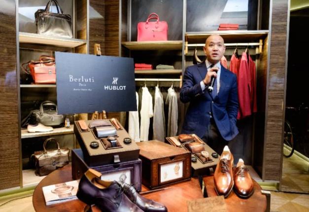 Singapour : The Hour Glass présente la collaboration Hublot x Berluti