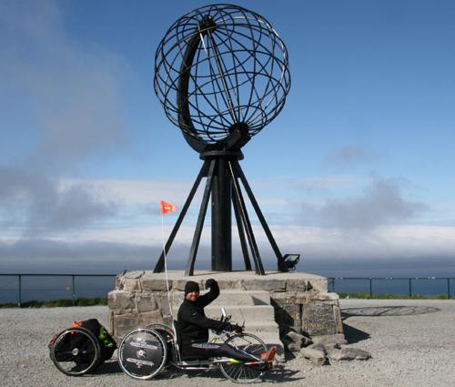 Yves Néron-Bancel et sa Jaeger-LeCoultre Extrem World Chronograph sont arrivés au Cap Nord