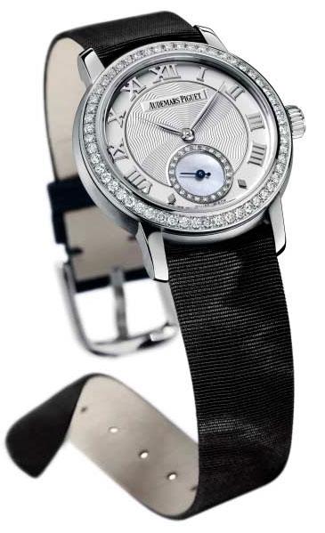 Jules Audemars, une nouvelle collection de montres pour dames chez Audemars Piguet…