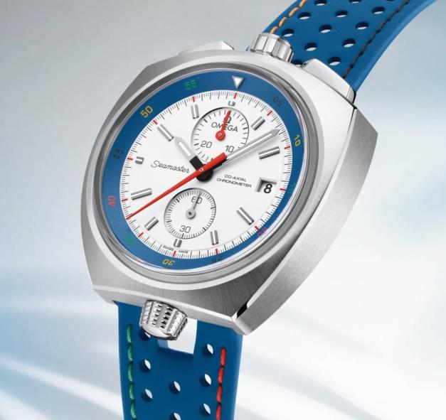Omega : les trois montres des JO