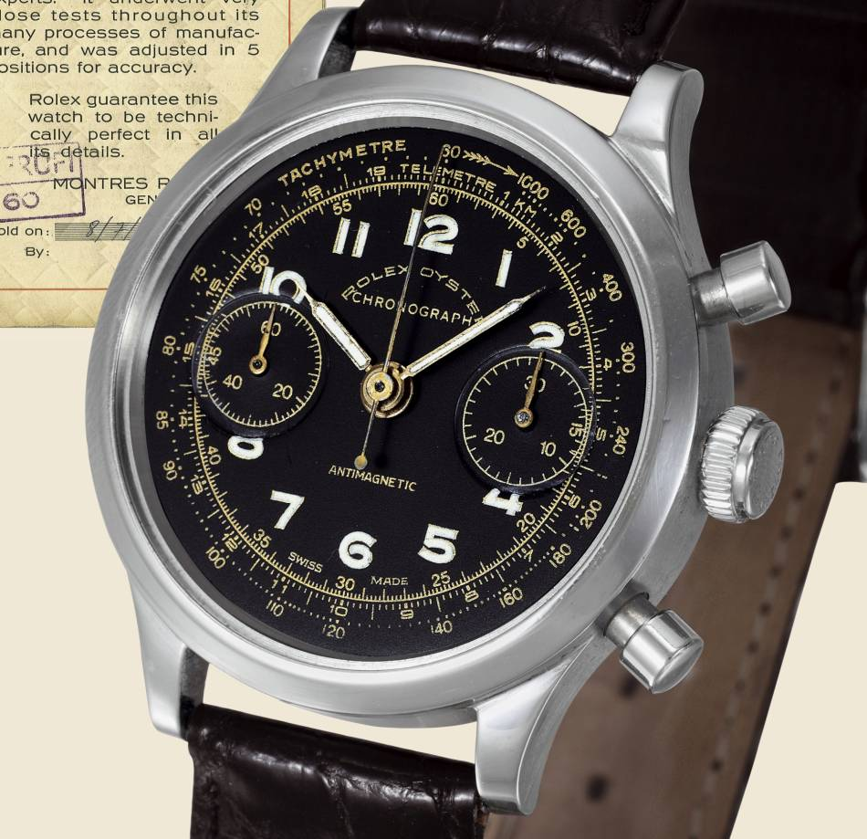Nutting's Chrono Rolex 3525
