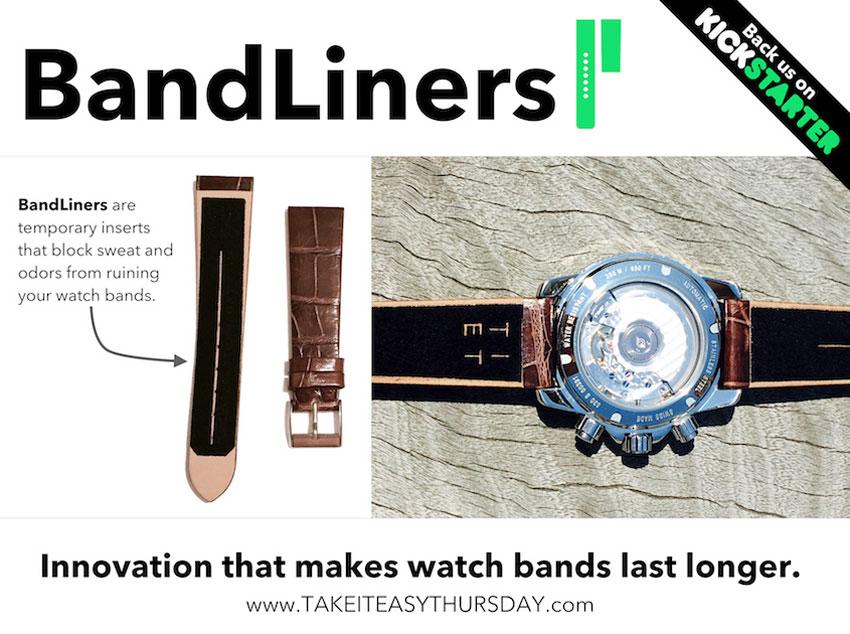 BandLiners : l'accessoire qui prolonge la durée de vie de votre bracelet-montre