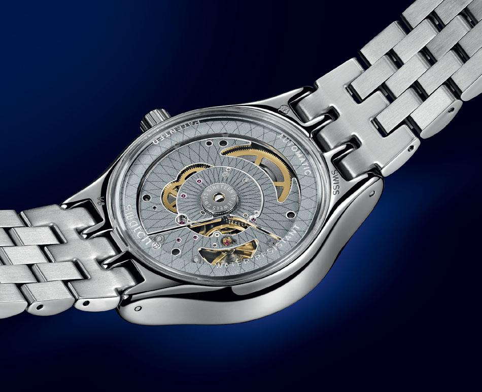 Swatch Sistem51 Irony : à l'heure de l'acier