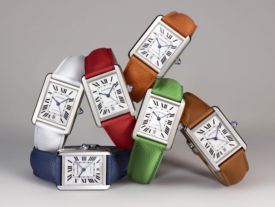 Cartier : lancement de bracelets interchangeables