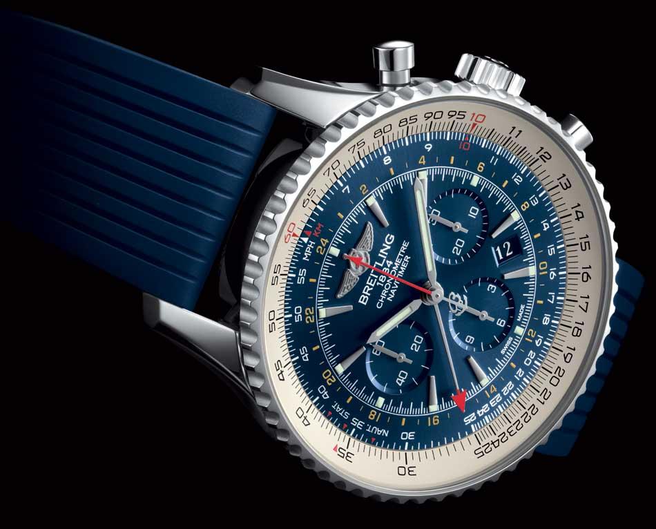Breitling Navitimer GMT Aurora Blue