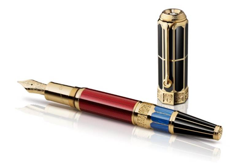 Stylo Montblanc Edition Ecrivains William Shakespeare