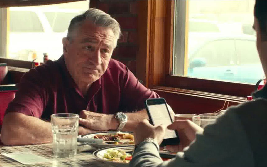 dirty Grandpa, Robert de Niro