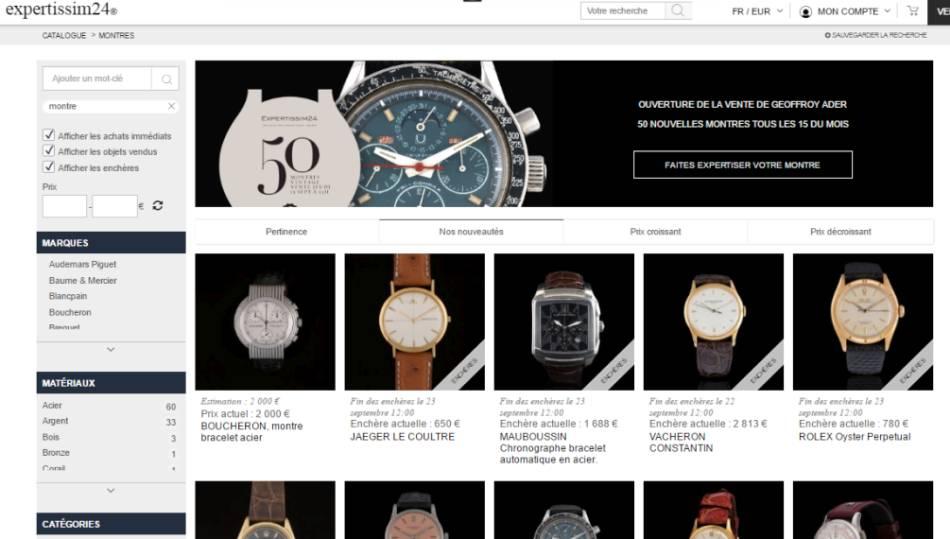 b9617c5494e Expertissim24   enchères de montres d occase en ligne