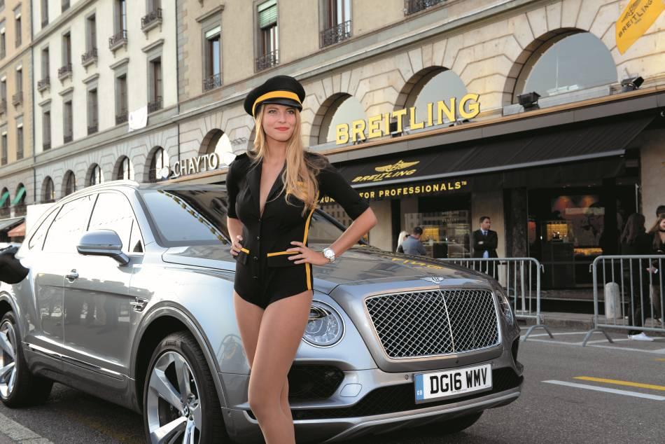 Breitling se porte bien, merci ! Ouverture à Genève